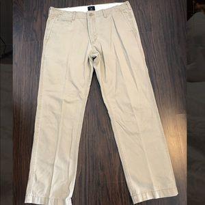 Gap khakis vintage straight fit size 36X 32